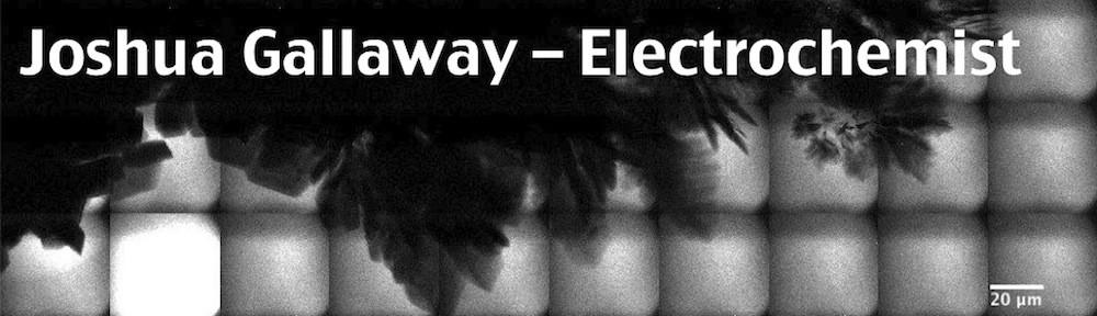 Joshua Gallaway – Electrochemist