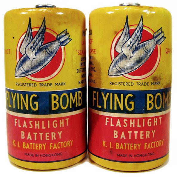 flying bomb batteries